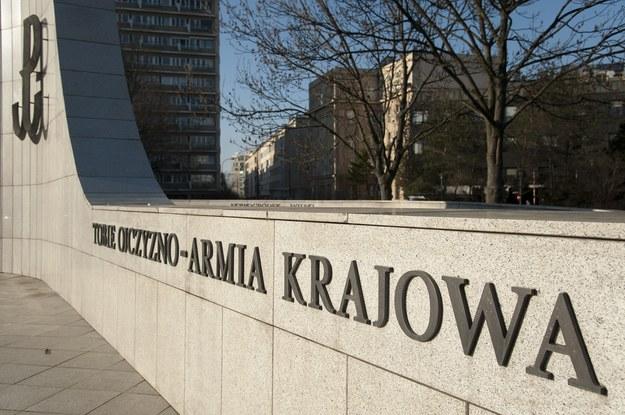 Pomnik Polskiego Państwa Podziemnego i Armii Krajowej w Warszawie /Wojciech Stróżyk /Reporter
