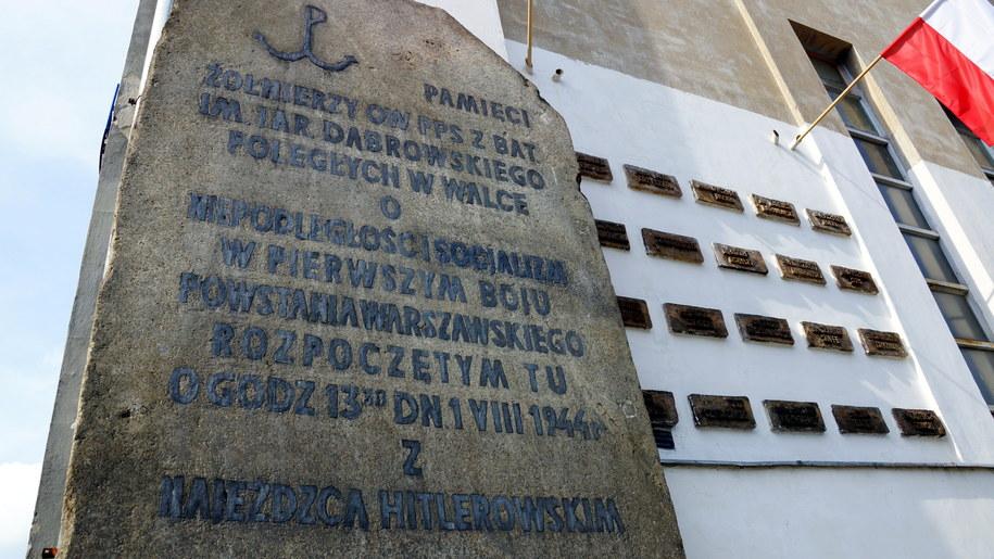 Pomnik przy ul. Suzina /Michał Dukaczewski /RMF FM