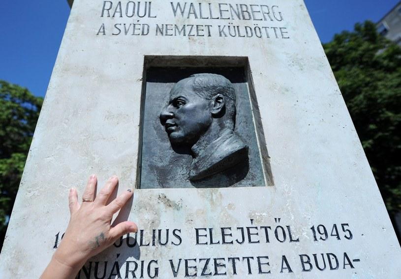 Pomnik Raoula Wallenberga w Budapeszcie /AFP