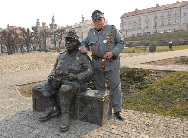 Pomnik Szwejka w Przemyślu/fot. Łukasz Solski /East News