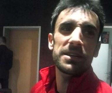 Pomocnik Piasta Gerard Badia po wygranym meczu z Arką Gdynia