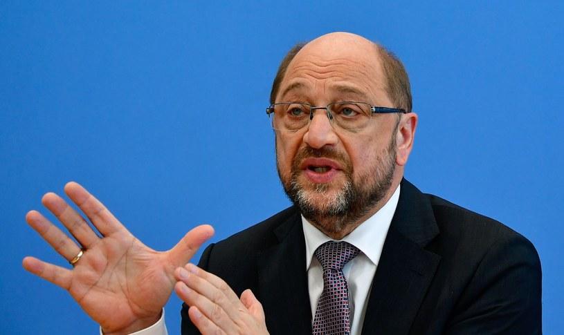 Pomysłodawcą centralnego planowania udziału aut elektrycznych na rynku jest Martin Schulz /AFP