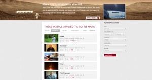 Ponad 100 tys. osób chce kolonizować Marsa