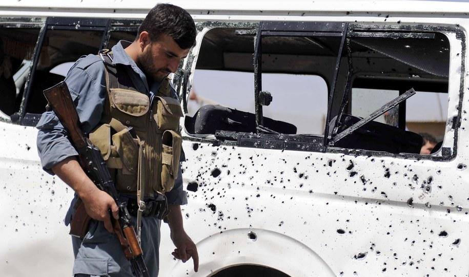 Ponad 30 ofiar zamachu w Afganistanie /JAWAD JALALI /PAP/EPA