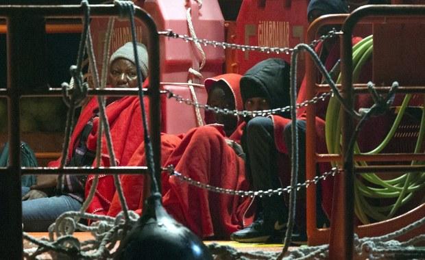 Ponad 8 tysięcy migrantów uratowano w ciągu weekendu na Morzu Śródziemnym