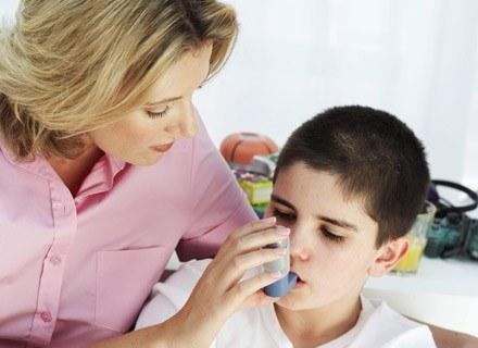 Ponad 90% przypadków astmy dziecięcej ma związek z alergią