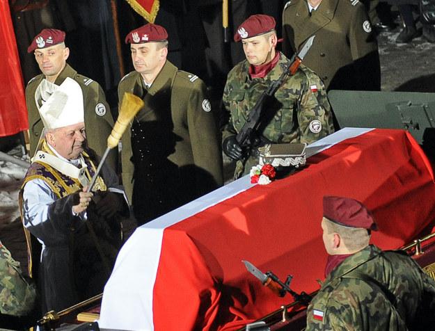 Ponowny pochówek generała Sikorskiego - Kraków 2008 rok /AFP
