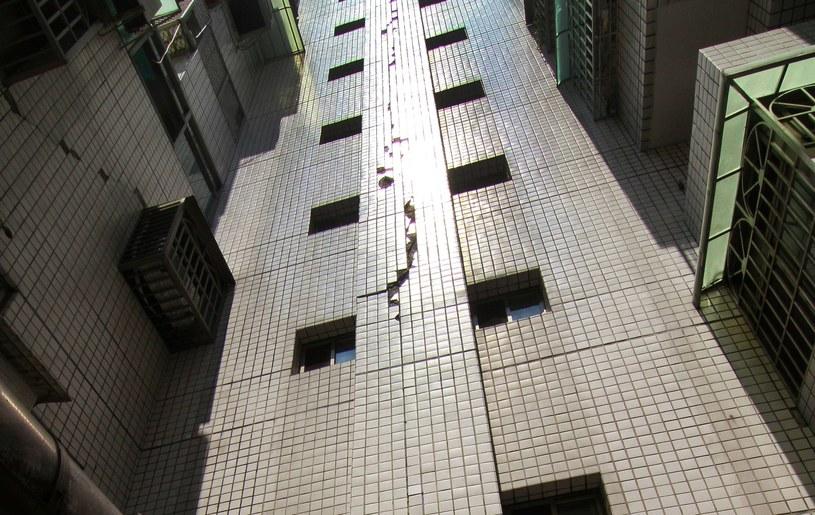 Popękały ściany budynków /AFP