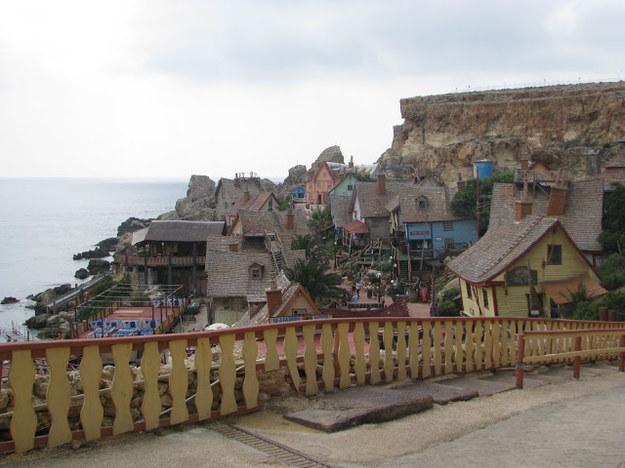 Popeye Village - niezwykła wioska na Malcie/fot. DBM /INTERIA.PL