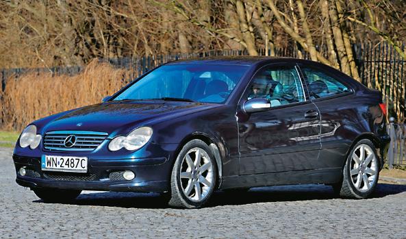 Poprzednik w wersji Sportcoupe. Auta po 2004 r. są lepiej zabezpieczone przed rdzą. /Motor