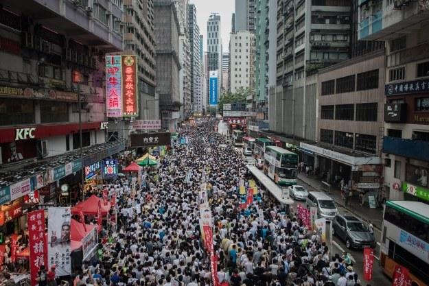 Populacja Azji zacznie maleć od 2050 roku /AFP