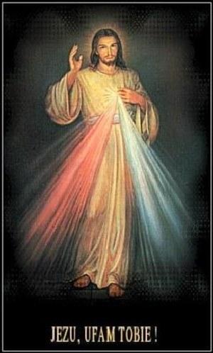 Popularne obecnie w Polsce wyobrażenie Chrystusa. Jak wierzą wyznawcy, oparte na wizji s. Faustyny /Archiwum