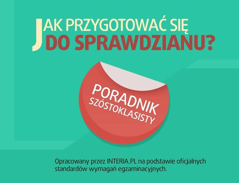 Poradnik Szóstoklasisty zawiera opis standardów wymagań egzaminacyjnych /INTERIA.PL