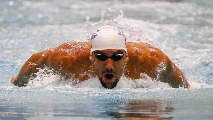 """""""Porażki bardzo mnie motywują"""" - powiedział po przegranej Michael Phelps /ERIK S. LESSER /PAP/EPA"""
