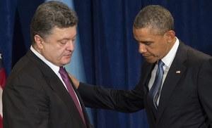 Poroszenko będzie zabiegał o pomoc wojskową dla Ukrainy