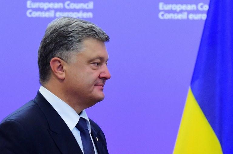 Poroszenko zaprosił Dudę do złożenia wizyty w Kijowie /AFP
