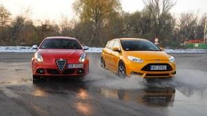 Porównanie: Alfa Romeo Giulietta QV, Ford Focus ST