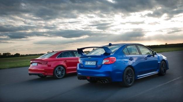 Porównanie: Audi S3 Limousine, Subaru WRX STI /Motor