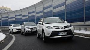 Porównanie: Honda CR-V, Mitsubishi Outlander, Toyota RAV4