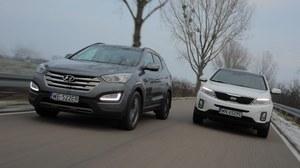 Porównanie: Hyundai Santa Fe, Kia Sorento
