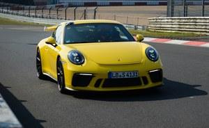 Porsche 911 GT3 wyjątkowo szybkie na Nurburgringu