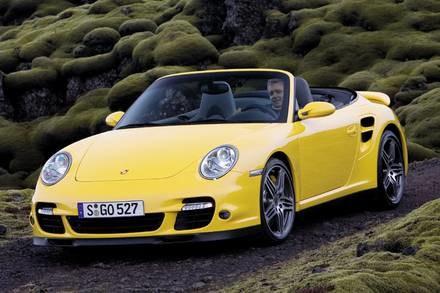 Porsche 911 turbo cabriolet / Kliknij /INTERIA.PL