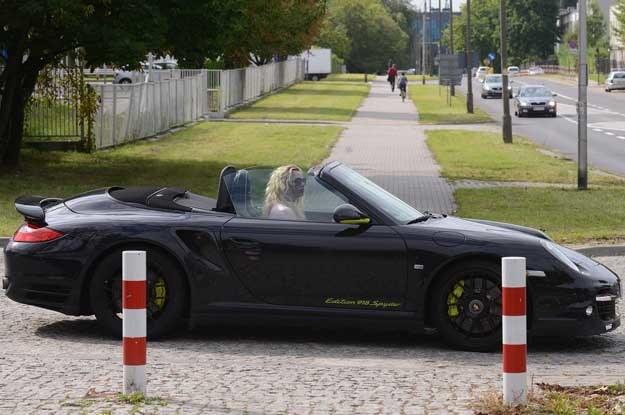 Porsche 911 Turbo S w wersji Edition 918 Spyder Joanny L. /Fot. Mateusz Jagielski /East News