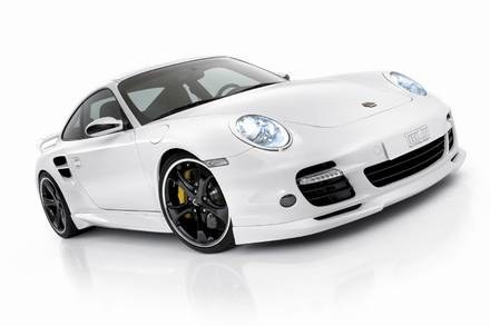 Porsche 911 turbo techart / Kliknij /INTERIA.PL