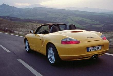Porsche boxster / kliknij /INTERIA.PL