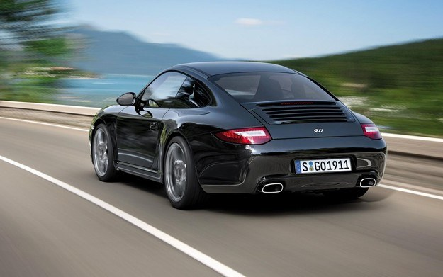 Porsche carrera black edition /