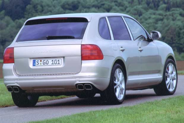 Porsche Cayenne / kliknij /INTERIA.PL