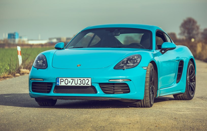Porsche Cayman /INTERIA.PL