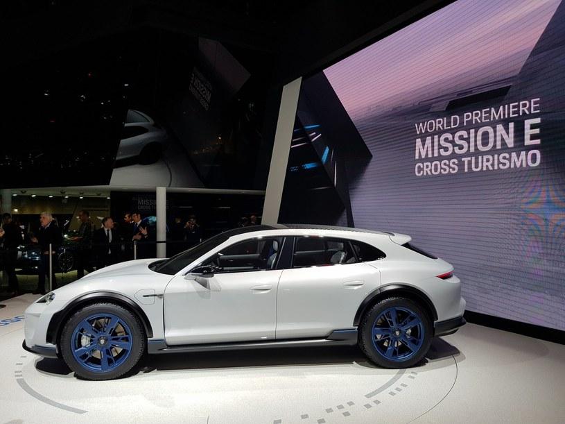 Porsche Mission E Cross Turismo /INTERIA.PL