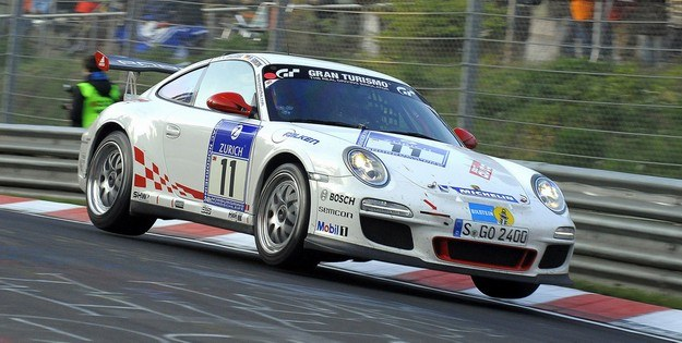Porsche na torze /