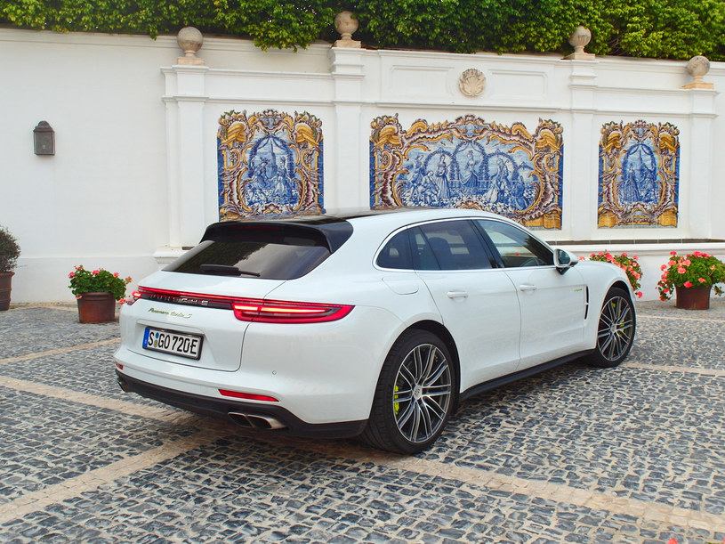Porsche Panamera Turbo S E-Hybrid Sport Turismo /INTERIA.PL