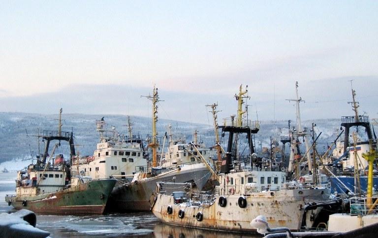 Port w Murmańsku, zdj. ilustracyjne /AFP