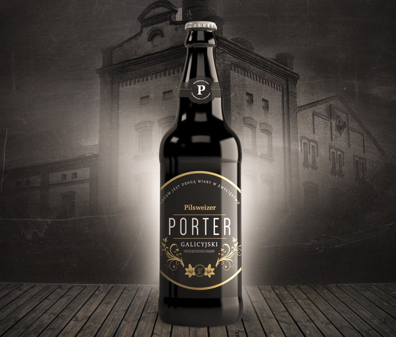 Porter Galicyjski - jego wyjątkowość kryje się w czarnej butelce /materiały prasowe