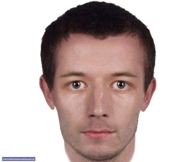 Portet pamięciowy poszukiwanego mężczyzny /Policja