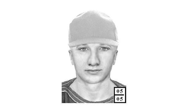 Portret pamięciowy sprawcy /Policja