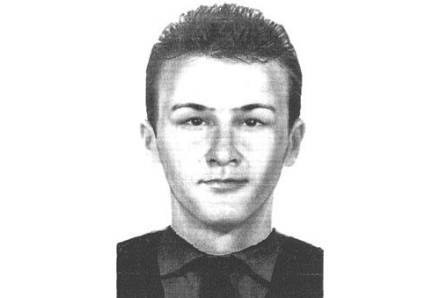 Portret pamięciowy złodzieja diamentów sporządzony przez policję /Policja