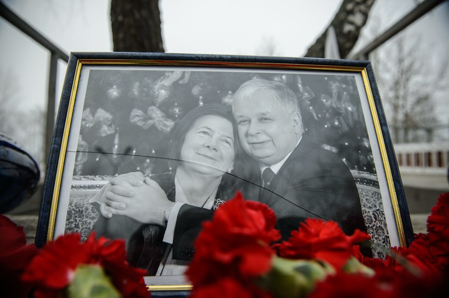 Portret pary prezydenckiej w Smoleńsku /Wojciech Pacewicz /PAP
