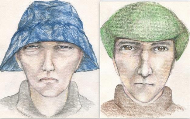 Portrety pamięciowe sprawców /Policja