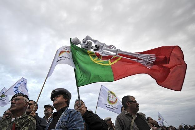Portugalczycy mają coraz więcej powodów do niezadowolenia /AFP