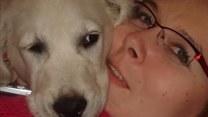 Poruszająca historia Magdy i jej psiego opiekuna