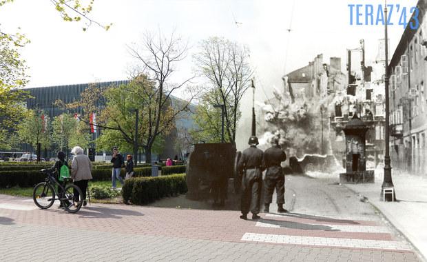 """Poruszające kolaże połączyły przeszłość Warszawy z teraźniejszością. """"To rodzaj hołdu i tęsknoty"""""""