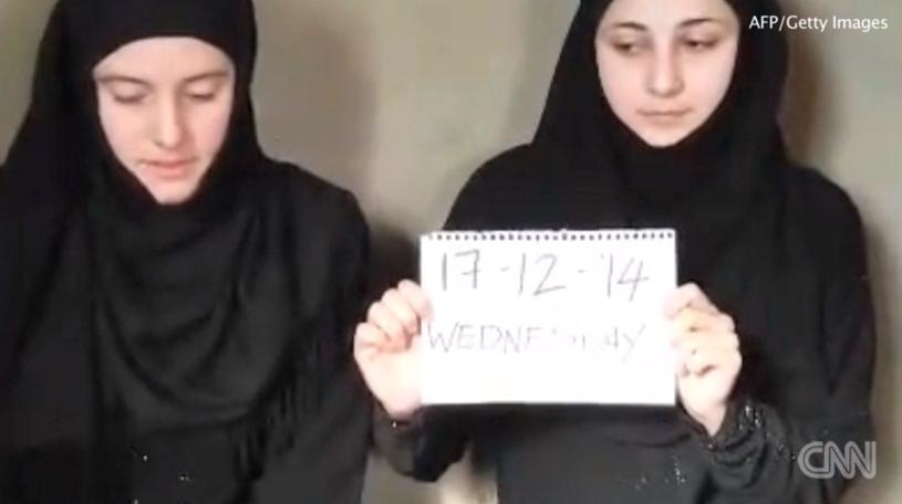 Porwane kobiety to Greta Ramelli i Vanessa Marzullo. Zaginęły w lipcu w czasie podróży po Syrii /CNN /INTERIA.PL
