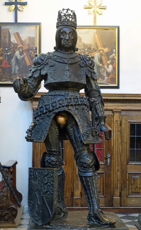 Posąg Rudolfa Habsburga /Agnieszka Łopatowska /Styl.pl