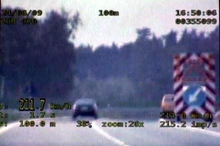Pościg za BMW /Policja