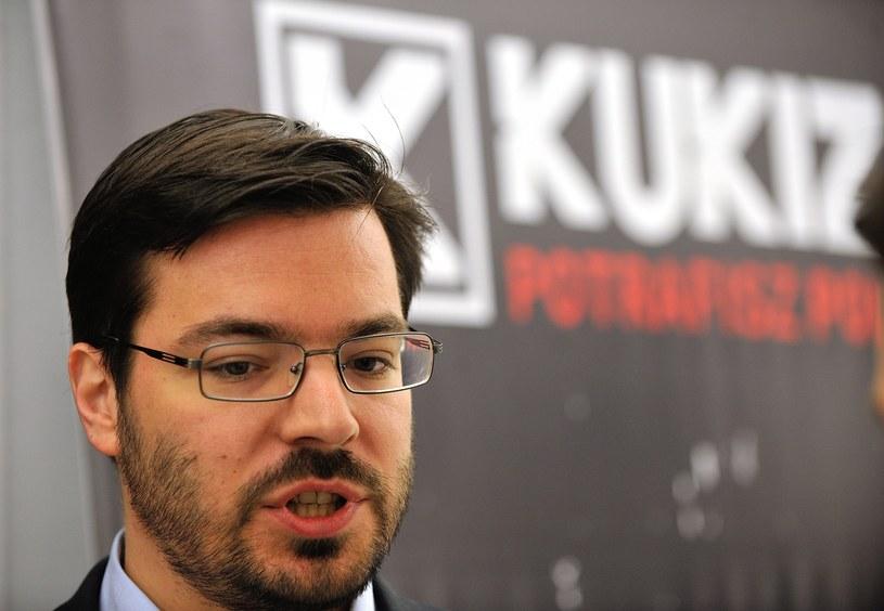 Poseł Kukiz'15 Stanisław Tyszka /Witold Rozbicki /East News