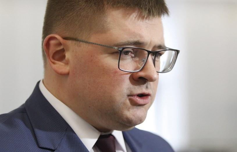 Poseł Kukiz'15 Tomasz Rzymkowski /Stefan Maszewski /East News